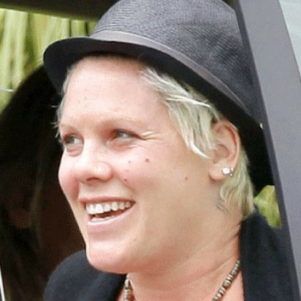 PINK without makeup