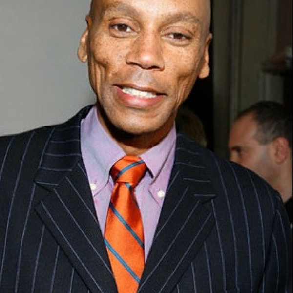 RuPaul without makeup