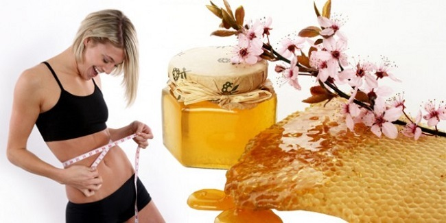 Honey helps losing weight