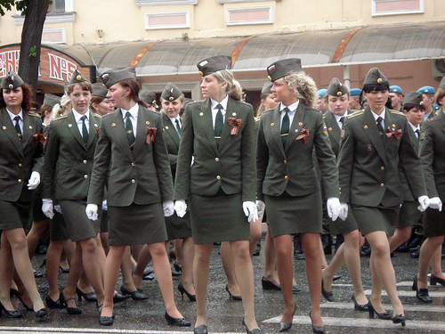 Women in Uniform in Russia