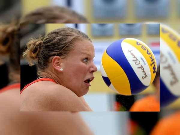 Well timed sports photo