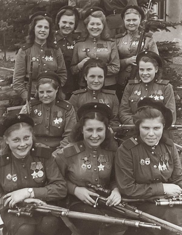 emale Snipers of the 3rd Shock Army, 1st Belorussian Front 1945