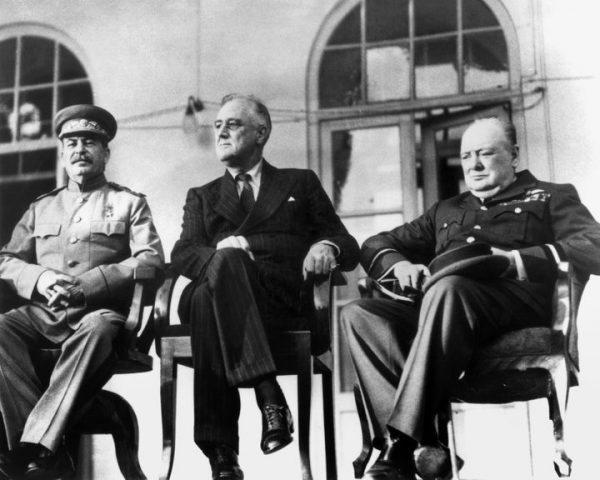 the big 3 meeting in 1943