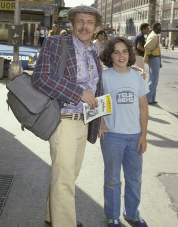 Jerry Stiller and Ben Stiller in 1978