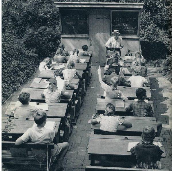 Open Air Schools in Netherland 1957