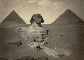 Great Sphinx of Giza in 1860's