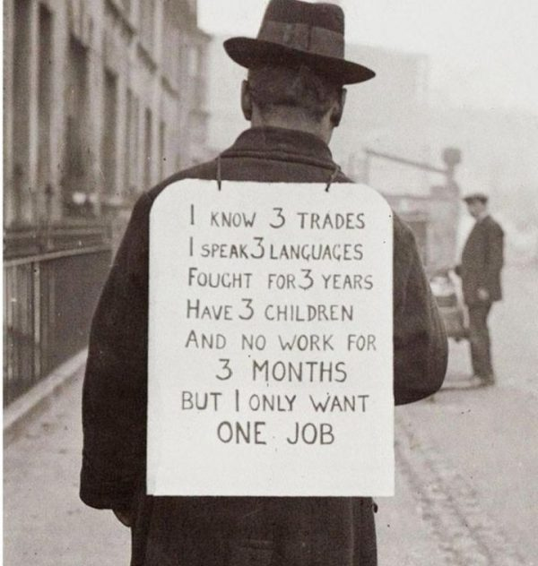 Job Hunt in 1930