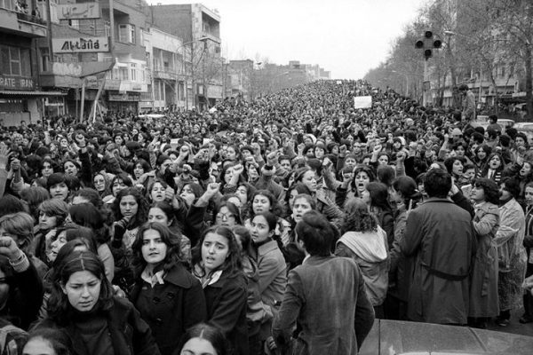 1979 protest in Iran again the hijab law
