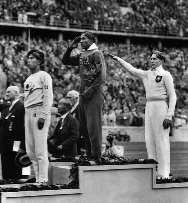 Jesse Owens wins Gold in 1936