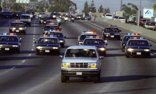 The White Bronco Chase