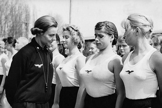 WWII girl's athletic club